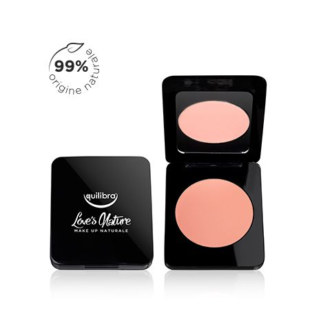 Blush colore naturale pesca naturale Love's Nature