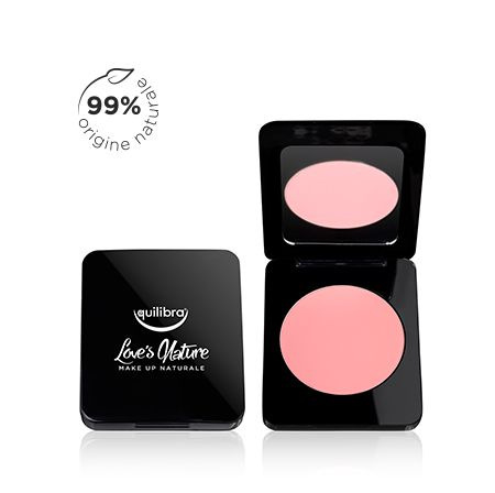 Blush colore naturale rosa naturale Love's Nature